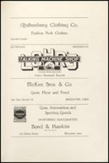 1921 Muscatine High School Yearbook Page 108 & 109