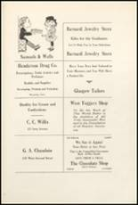 1921 Muscatine High School Yearbook Page 136 & 137