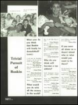1986 Ruskin High School Yearbook Page 98 & 99