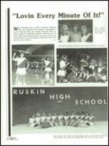 1986 Ruskin High School Yearbook Page 182 & 183