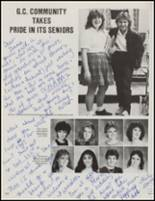 1985 Good Counsel High School Yearbook Page 124 & 125