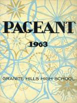 1963 Yearbook Granite Hills High School
