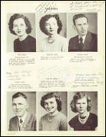 1951 Sandy Ridge High School Yearbook Page 14 & 15