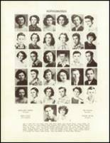 1951 Sandy Ridge High School Yearbook Page 34 & 35