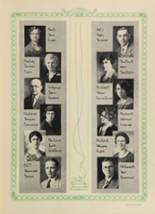 1928 Woodward High School Yearbook Page 26 & 27