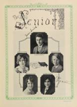1928 Woodward High School Yearbook Page 32 & 33