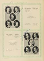 1928 Woodward High School Yearbook Page 38 & 39