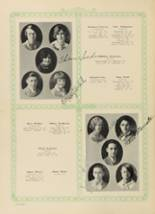 1928 Woodward High School Yearbook Page 54 & 55
