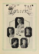 1928 Woodward High School Yearbook Page 64 & 65