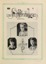 1928 Woodward High School Yearbook Page 70 & 71