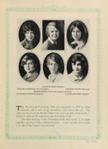 1928 Woodward High School Yearbook Page 96 & 97