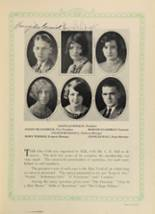 1928 Woodward High School Yearbook Page 98 & 99