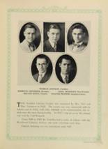 1928 Woodward High School Yearbook Page 108 & 109