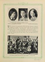 1928 Woodward High School Yearbook Page 110 & 111