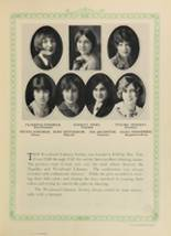 1928 Woodward High School Yearbook Page 114 & 115