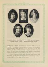 1928 Woodward High School Yearbook Page 116 & 117