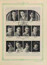 1928 Woodward High School Yearbook Page 136 & 137