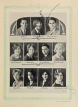 1928 Woodward High School Yearbook Page 138 & 139