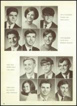 1969 Mt. Morris High School Yearbook Page 34 & 35