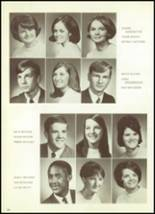 1969 Mt. Morris High School Yearbook Page 36 & 37