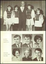 1969 Mt. Morris High School Yearbook Page 38 & 39
