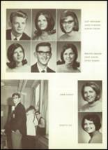 1969 Mt. Morris High School Yearbook Page 42 & 43