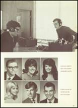 1969 Mt. Morris High School Yearbook Page 44 & 45