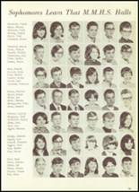1969 Mt. Morris High School Yearbook Page 56 & 57