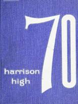 1970 Yearbook Harrison High School