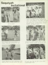 1970 Sequoyah High School Yearbook Page 86 & 87