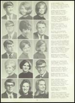 1970 Girard High School Yearbook Page 66 & 67