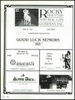 1988 Montrose High School Yearbook Page 166 & 167