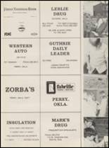 1973 Mulhall-Orlando High School Yearbook Page 70 & 71