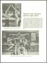 1977 Liberty High School Yearbook Page 106 & 107