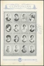 1925 Clinton High School Yearbook Page 18 & 19