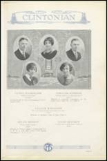 1925 Clinton High School Yearbook Page 26 & 27
