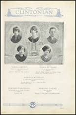 1925 Clinton High School Yearbook Page 28 & 29