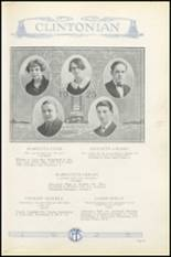 1925 Clinton High School Yearbook Page 30 & 31