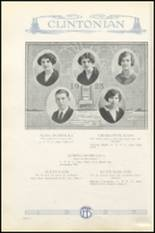 1925 Clinton High School Yearbook Page 32 & 33