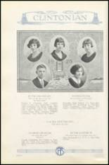 1925 Clinton High School Yearbook Page 34 & 35