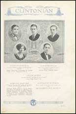 1925 Clinton High School Yearbook Page 36 & 37