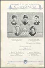 1925 Clinton High School Yearbook Page 38 & 39