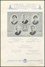 1925 Clinton High School Yearbook Page 40 & 41