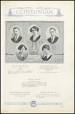 1925 Clinton High School Yearbook Page 42 & 43