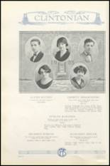 1925 Clinton High School Yearbook Page 44 & 45