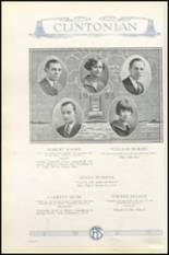 1925 Clinton High School Yearbook Page 46 & 47