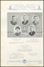1925 Clinton High School Yearbook Page 48 & 49