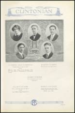 1925 Clinton High School Yearbook Page 52 & 53