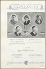 1925 Clinton High School Yearbook Page 54 & 55