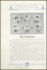 1925 Clinton High School Yearbook Page 136 & 137